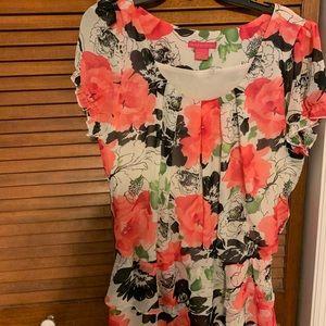Floral Dress Blouse
